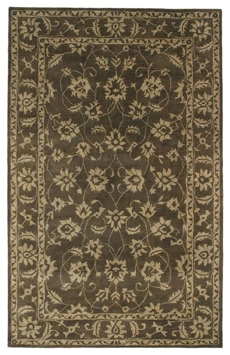 olive green area rugs traditional charisma 5 x8 rectangle olive green beige area rug traditional area rugs