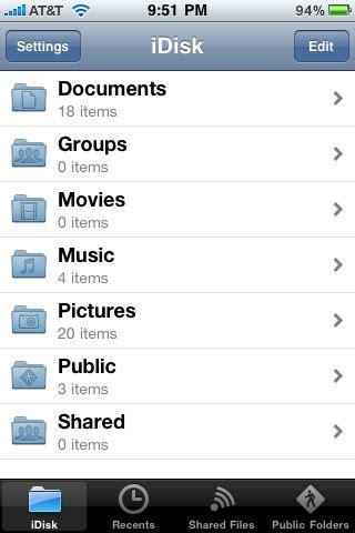 iphone j d review apple s mobileme idisk app iphone j d