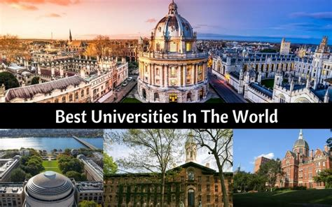 Top 10 Best Universities In The World Best In The World For
