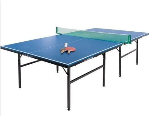 table tennis dimensions new debut size 9 ft indoor table tennis table folds away bats incl ebay