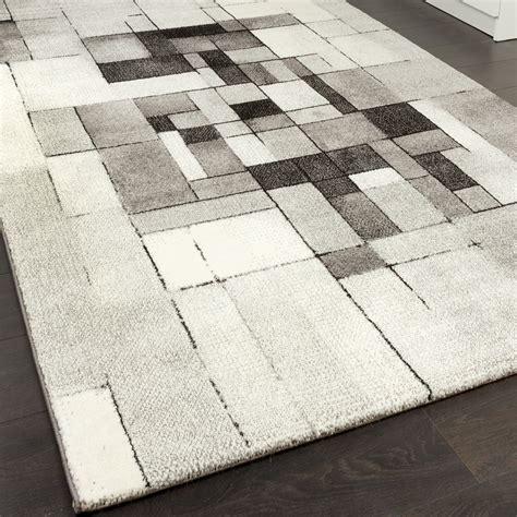 tappeto grigio moderno tappeto design alla moda a scacchi moderno sfumato grigio