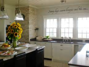 white beach house kitchen home christmas decoration
