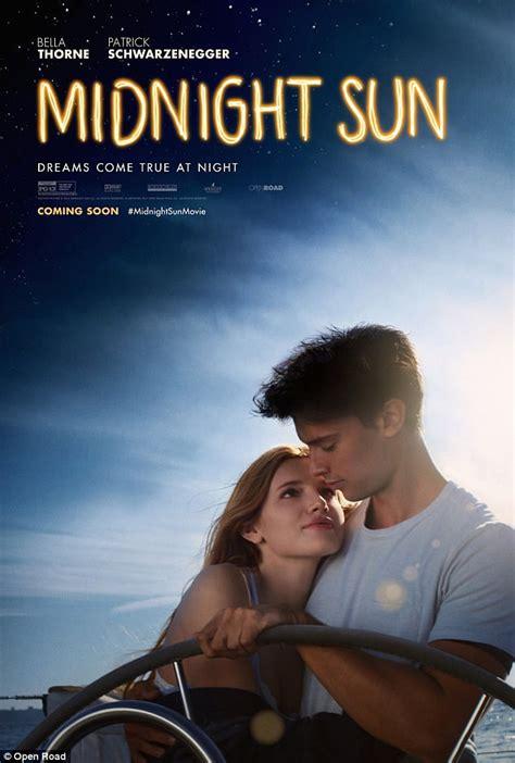 film romance uk bella thorne stars on midnight sun film poster daily