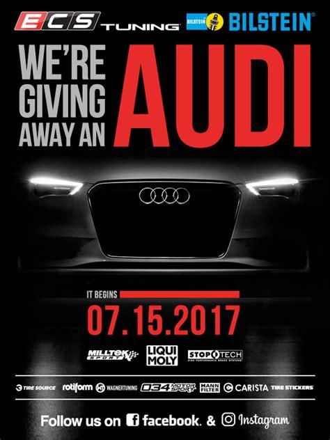 Ecs Tuning Audi Giveaway - ecs tuning we re giving away an audi