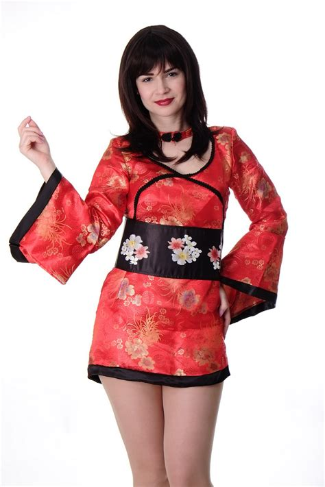 Dress La Femme Kimono Dress dress me up costume femmes chine fille geisha kimono