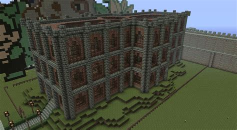 minecraft how to build a library youtube public brick library of rageland minecraft project