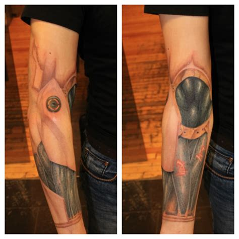 Bionic Arm Tattoo By Mikey Tatoosleeve Pinterest Bionic Arm Sleeve