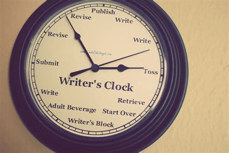 writer s authorculture fabulously fun friday the writer s clock
