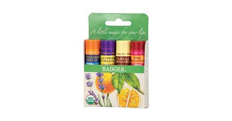 1 Set Clasic badger balm classic lipstick set green 1 set ecco verde