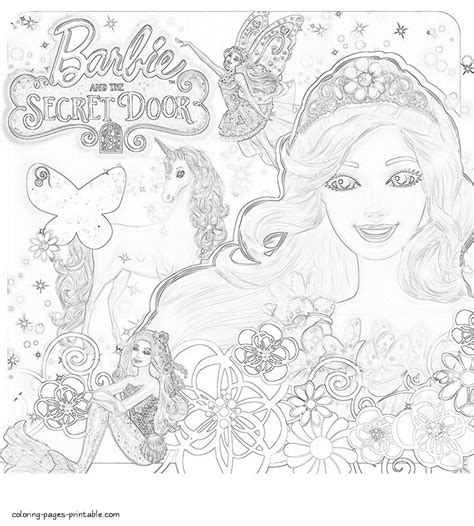 coloring pages of barbie and the secret door coloring pages barbie and the secret door fun coloring pages