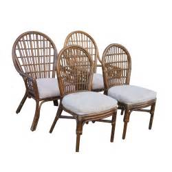 Dining Table Chairs Vintage Rattan Dining Table And Chairs Ebay