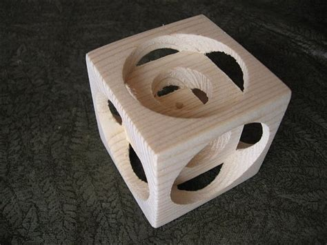 wood lathe magicpine cube popular woodworking magazine