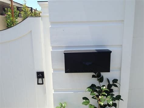 Decorative Wall Mount Mailboxes by Decorative Wall Black Wall Mount Mailbox Home Design