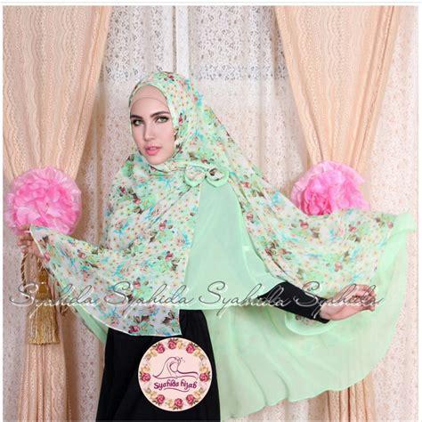 Khimar Tumpuk syahida tutorial pashmina by scarf