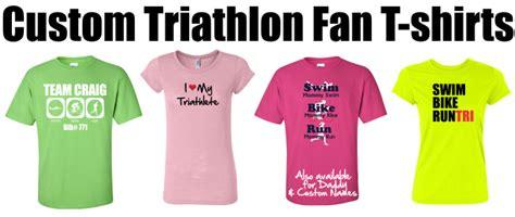 fan club t shirts design custom ironman triathlon team shirts for friends