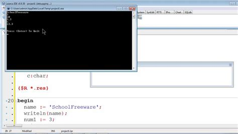 tutorial delphi pascal free pascal program tutorial 3 variables and data types