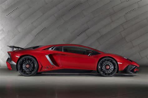 Lamborghini Aventador Production Lamborghini Aventador Lp 750 4 Sv The Fastest Production