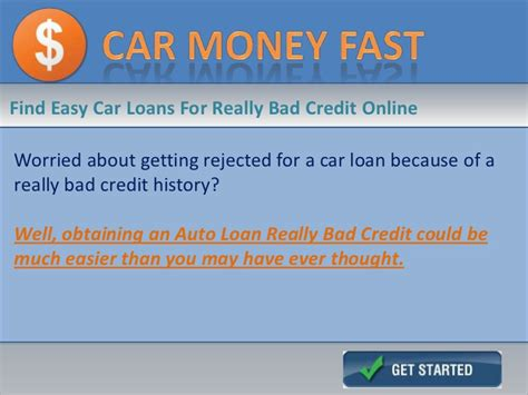 bad credit car loans  auto loans