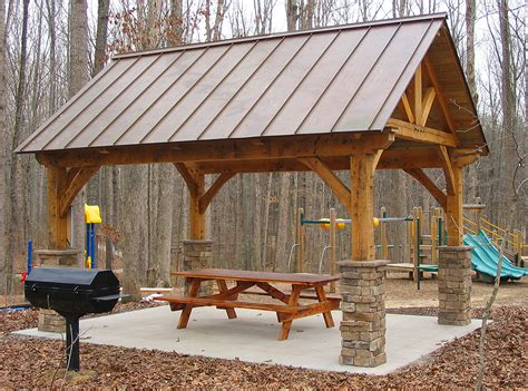 Backyard Pavilion Plans Ideas Log Frame Pavilion Timber Frame Pavilion Plans Pergola