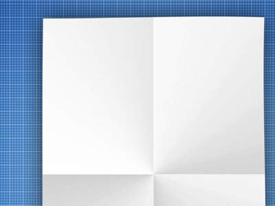Blank folded page, vector graphics   Clipart.me