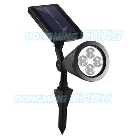 Led Outdoor Spot Lighting A Pair Outdoor 4 Leds Led Solar Led Spotlight Garden Lawn L Landscape Spot Light Spot Decor