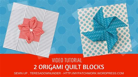 Origami Quilts - september 2017 deb s tutorials