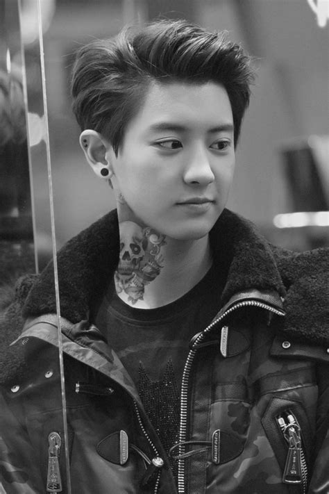 exo tattoo chanyeol