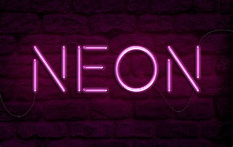 typography tutorial neon how to create a realistic neon light text effect in adobe