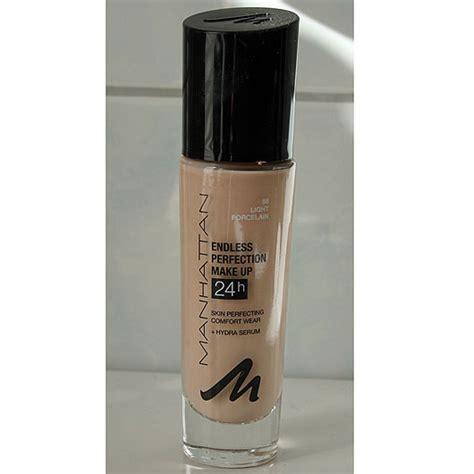 Foundation Make test foundation manhattan endless perfection make up farbe 56 light porcelain