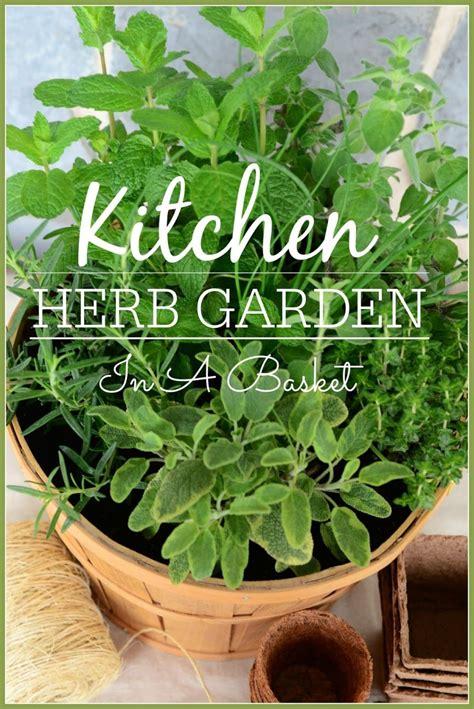 herb kitchen garden kitchen herb garden in a basket stonegable