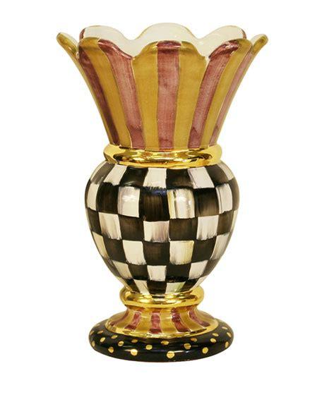 mackenzie childs vase mackenzie childs courtly check great vase
