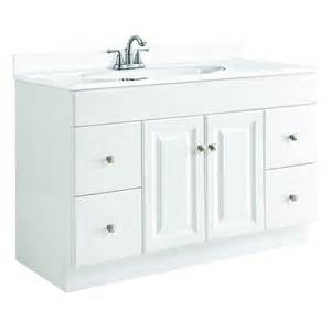 design your vanity home depot design house wyndham 48 in w x 21 in d unassembled