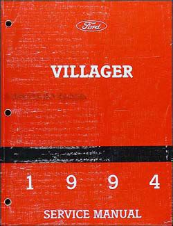 how to download repair manuals 1994 mercury villager navigation 1994 mercury villager repair shop manual original