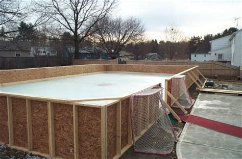 backyard rink thickness ken ingersoll s backyard rink howard s corner of the web