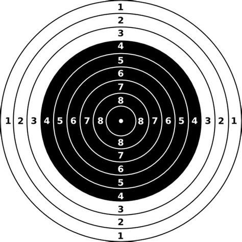 22 long rifle printable targets rifle shooting targets printable air rifle target clip