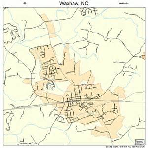 waxhaw carolina map 3771460