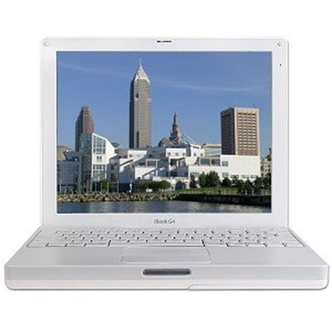 Laptop Ibook G4 Apple White apple ibook 12 1 inch laptop g4 ibook 1 33ghz processor white computers accessories