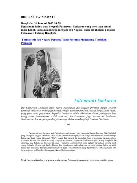 biography fatmawati soekarno biografi fatmawati