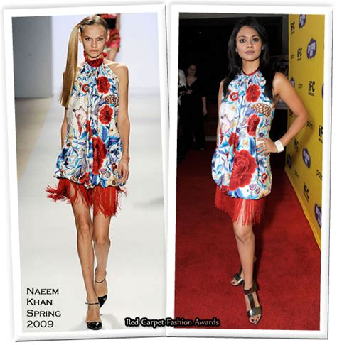 Catwalk To Carpet Naeem Khan Carpet Style Awards 2 by Runway To Quot Quot New York Premiere Pooja Kumar