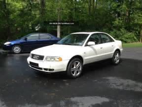99 Audi A4 Turbo 1999 Audi A4 Quattro 1 8 Turbo