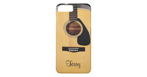 Indocustomcase Guitar Apple Iphone 7 Or 8 Cover personalized acoustic guitar iphone 7 plus zazzle