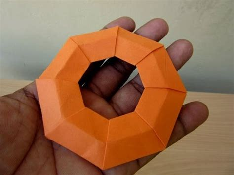 How To Make A Origami Frisbee - how to make a paper frisbee easy tutorials