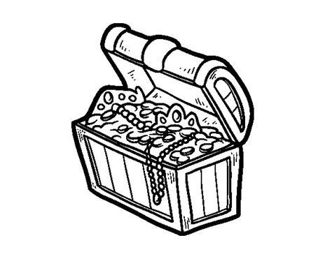 dibujo de un tesoro dibujo de el tesoro pirata para colorear dibujos net