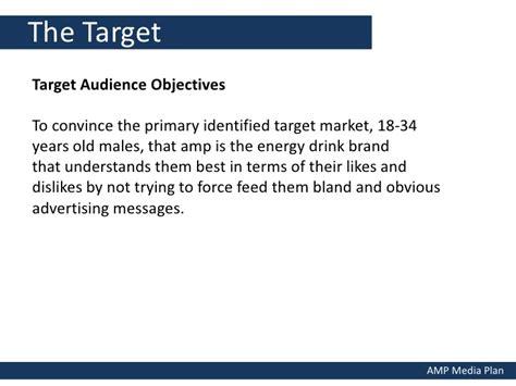 energy drink target market energy drink media plan