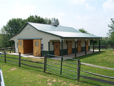 Sheds And Stables by Building Better Steel Barns Metal Prefab Buildings