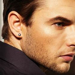 black stud earrings for guys real stud earrings for mens studs black