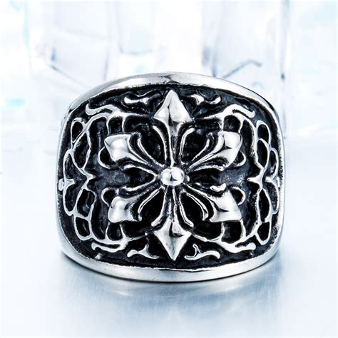 high quality steel royal silver stainless steel s high quality ring