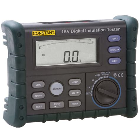 Multimeter Digital Constant jual constant 1kv insulation tester digital garansi resmi