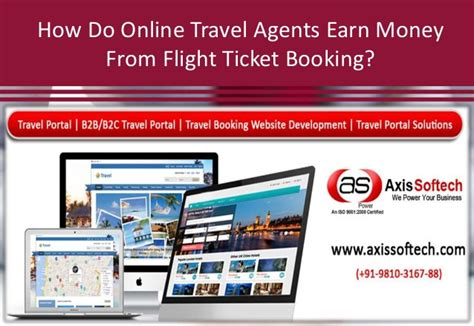 How Do Online Travel Sites Make Money - how do online travel agents earn money from flight ticket booking