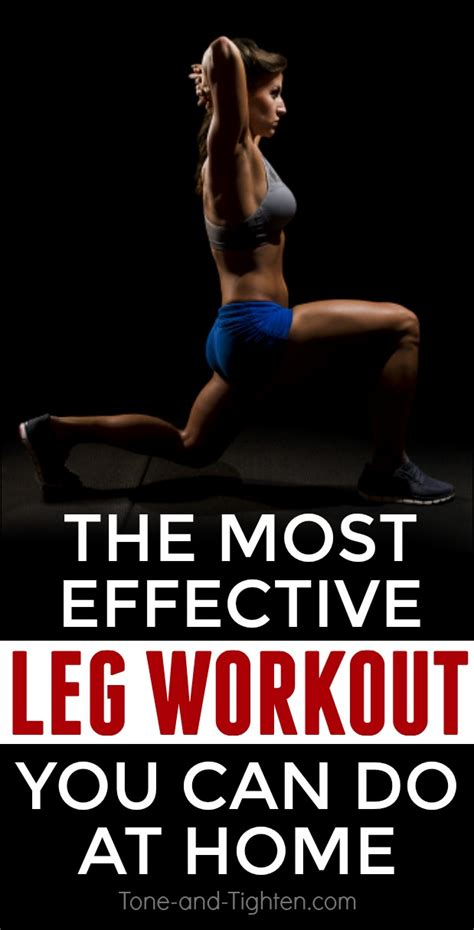 plyometric strength leg workout at home tone and tighten